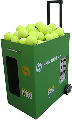 Spinshot Player Pro Tennis Balls Machine for Entry Level Players
