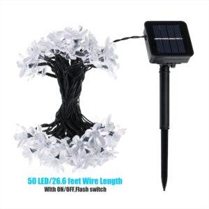 LITOM Solar Outdoor String Lights