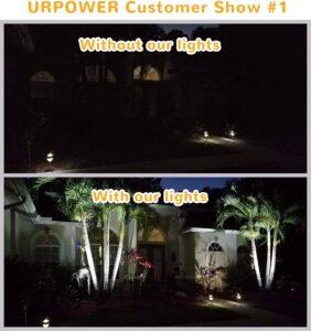 URPOWER Adjustable Solar Spotlight