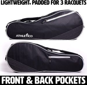 Athletico 3 Racquet Tennis Bag
